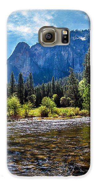 Yosemite National Park Galaxy S6 Case - Morning Inspirations 3 Of 3 by Az Jackson