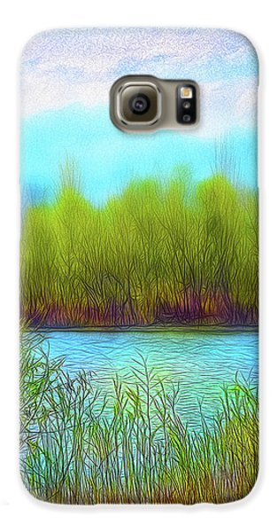 Morning Lake In Stillness Galaxy S6 Case