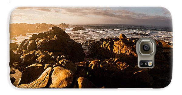 Galaxy S6 Case featuring the photograph Morning Ocean Panorama by Jorgo Photography - Wall Art Gallery