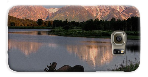 Mountain Galaxy S6 Case - Morning Tranquility by Sandra Bronstein