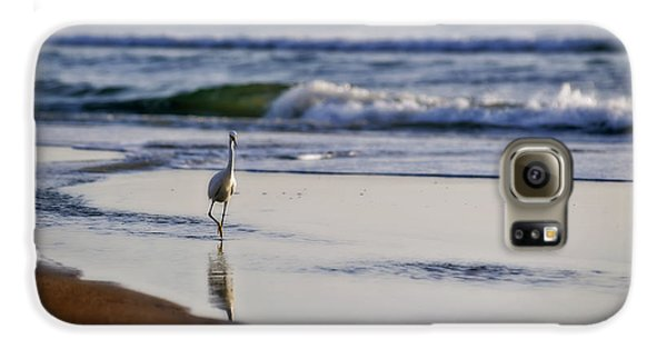 Morning Walk At Ormond Beach Galaxy S6 Case