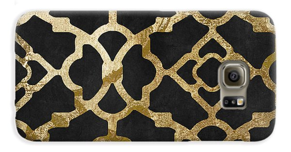 Moroccan Gold IIi Galaxy S6 Case by Mindy Sommers