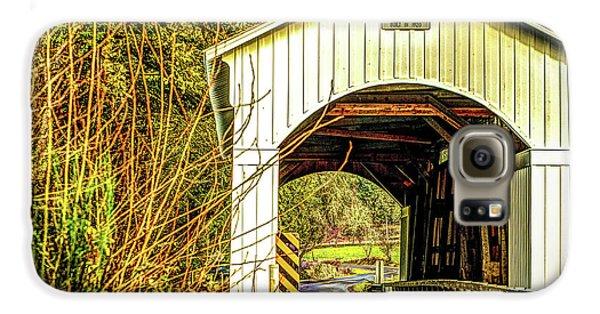 Mosby Creek Bridge Galaxy S6 Case