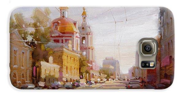 Moscow. Staraya Basmannaya Street Galaxy S6 Case by Ramil Gappasov