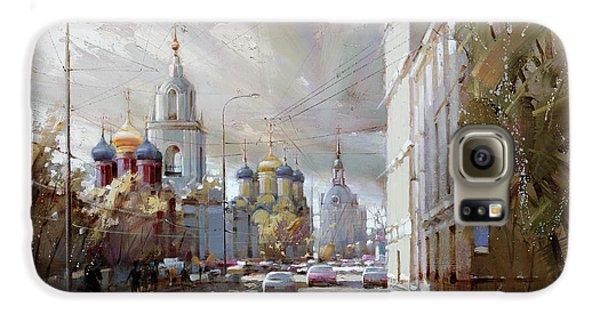 Moscow. Varvarka Street. Galaxy S6 Case by Ramil Gappasov
