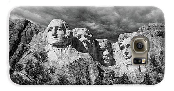 Thomas Jefferson Galaxy S6 Case - Mount Rushmore II by Tom Mc Nemar