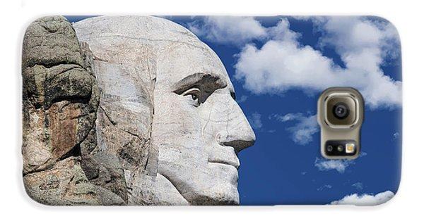 Mount Rushmore Profile Of George Washington Galaxy S6 Case