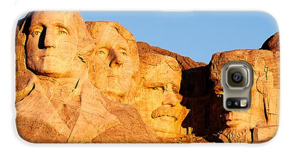 Mount Rushmore Galaxy S6 Case by Todd Klassy