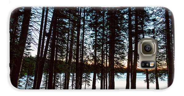 Galaxy S6 Case featuring the photograph Mountain Forest Lake by James BO Insogna