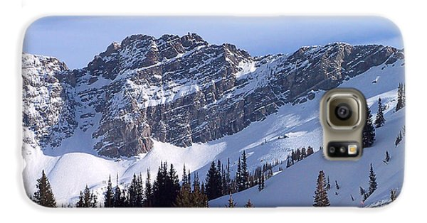 Mountain High - Salt Lake Ut Galaxy S6 Case by Christine Till