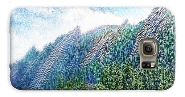 Mountain Pine Meadow Galaxy S6 Case