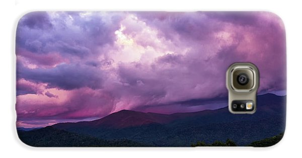 Mountain Sunset In The East Galaxy S6 Case