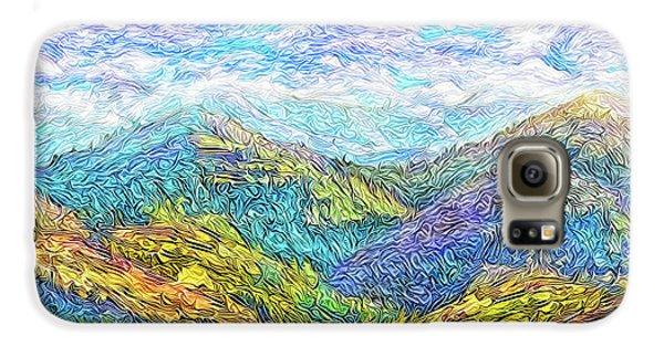 Mountain Waves - Boulder Colorado Vista Galaxy S6 Case