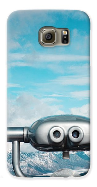 Mountaintop View Galaxy S6 Case by Kim Fearheiley