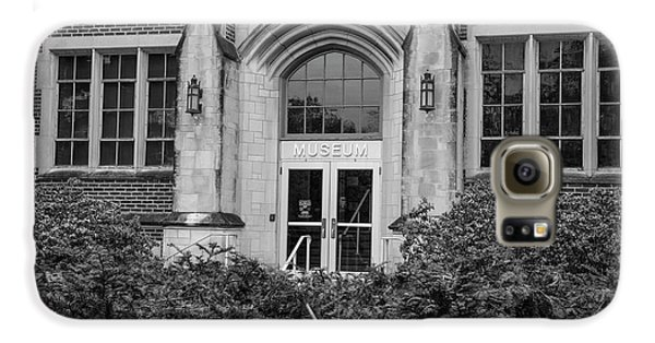 Msu Museum Black And White  Galaxy S6 Case by John McGraw