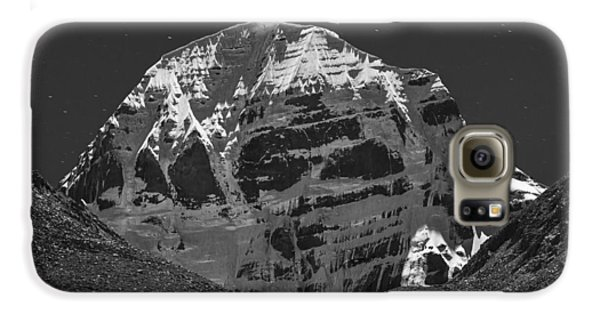 Mt. Kailash In Moonlight Galaxy S6 Case