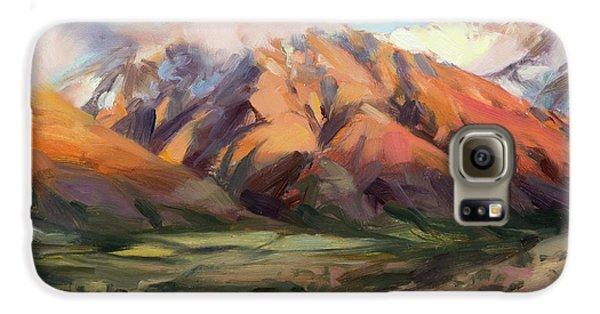 Mount Rushmore Galaxy S6 Case - Mt Nebo Range by Steve Henderson