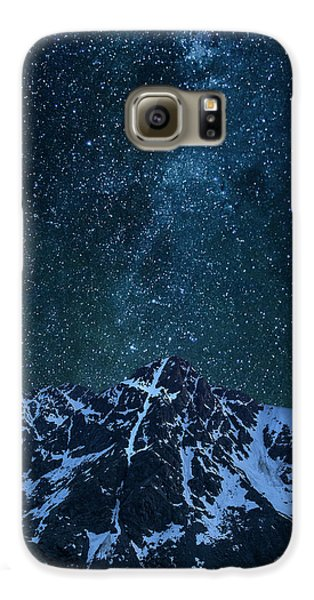 Galaxy S6 Case featuring the photograph Mt. Of The Holy Cross Milky Way by Aaron Spong
