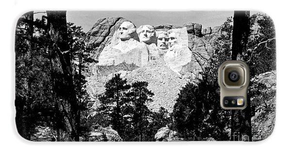 Mt Rushmore Galaxy S6 Case by American School