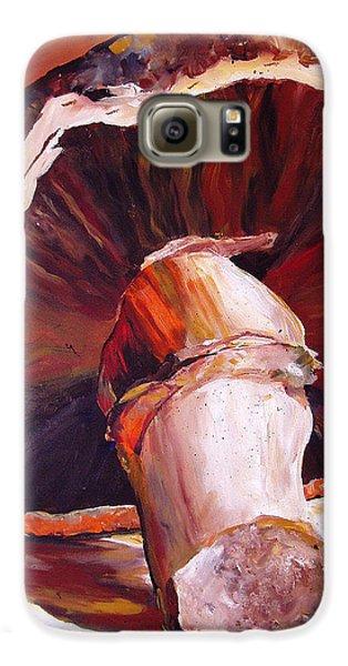 Mushroom Still Life Galaxy S6 Case