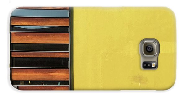 Galaxy S6 Case - Mustard Wall by Julie Gebhardt