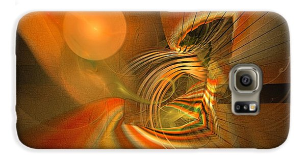Mutual Respect - Abstract Art Galaxy S6 Case