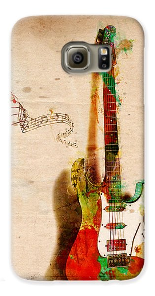 Rock And Roll Galaxy S6 Case - My Guitar Can Sing by Nikki Smith