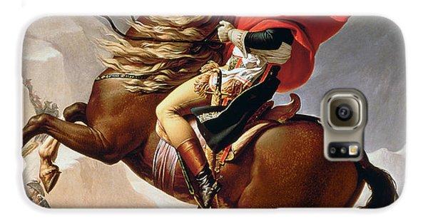 Napoleon Crossing The Alps Galaxy S6 Case