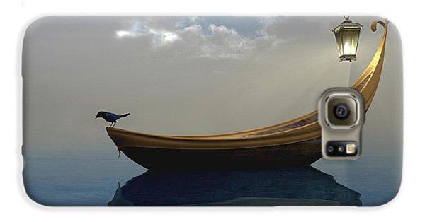 Boat Galaxy S6 Case - Narcissism by Cynthia Decker