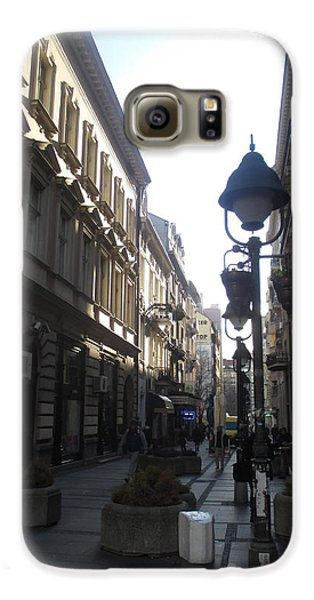 Sunny Galaxy S6 Case - Narrow Street by Anamarija Marinovic