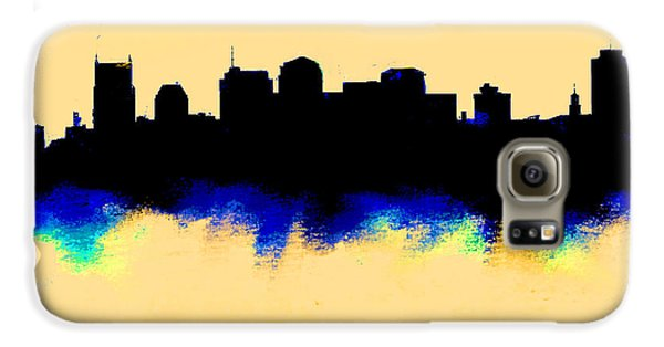 Nashville  Skyline  Galaxy S6 Case by Enki Art