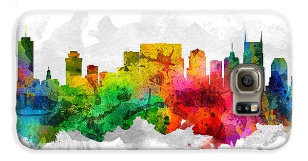 Nashville Tennessee Cityscape 12 Galaxy S6 Case