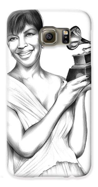 Rhythm And Blues Galaxy S6 Case - Natalie Cole by Greg Joens