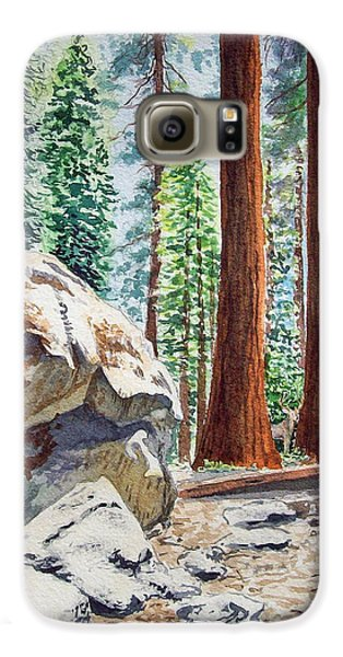 National Park Sequoia Galaxy S6 Case