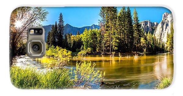 Yosemite National Park Galaxy S6 Case - Nature's Awakening by Az Jackson