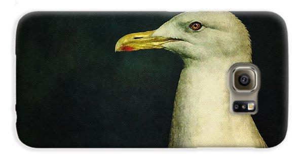 Seagull Galaxy S6 Case - Naujaq by Priska Wettstein
