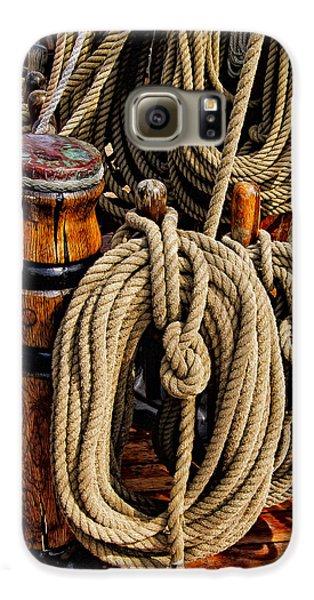 Nautical Knots 17 Oil Galaxy S6 Case