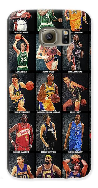 Nba Legends Galaxy S6 Case