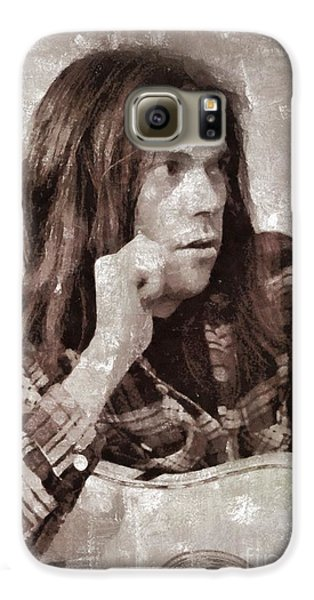 Neil Young By Mary Bassett Galaxy S6 Case