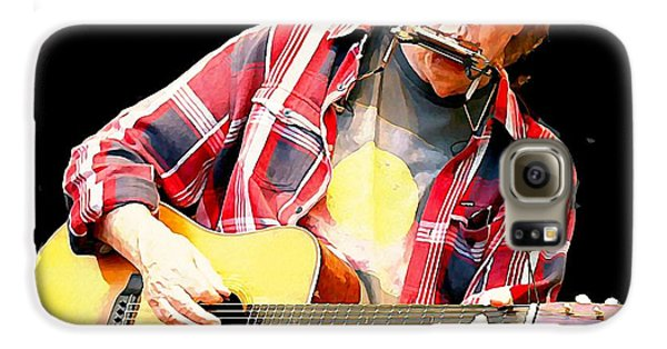 Neil Young Galaxy S6 Case by John Malone