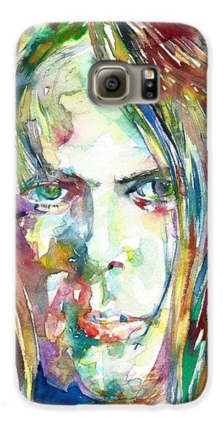 Neil Young Portrait Galaxy S6 Case
