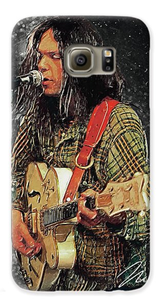 Neil Young Galaxy S6 Case