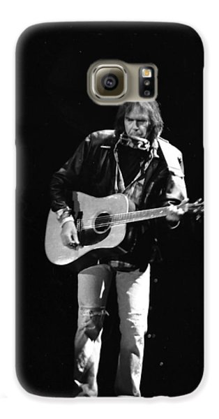 Neil Young Galaxy S6 Case by Wayne Doyle