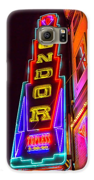 Neon Condor San Francisco Galaxy S6 Case