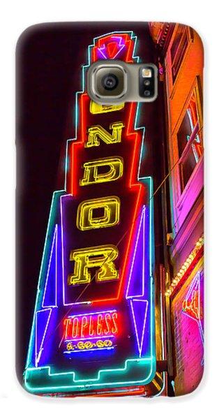 Neon Condor San Francisco Galaxy S6 Case by Garry Gay