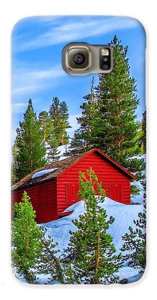 Yosemite National Park Galaxy S6 Case - Nestled In by Az Jackson