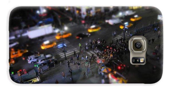 Broadway Galaxy S6 Case - New York City Street Miniature by Nicklas Gustafsson