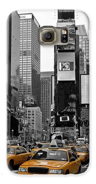 City Scenes Galaxy S6 Case - New York City Times Square  by Melanie Viola