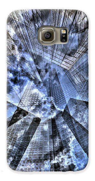 New York Iris Collage Galaxy S6 Case by Dave Beckerman