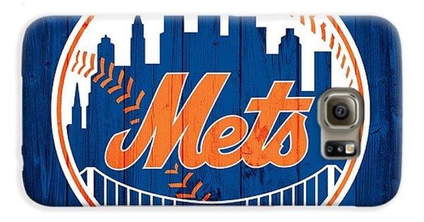 New York Mets Barn Door Galaxy S6 Case